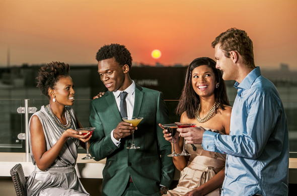 Romantic hotels in Sandton.