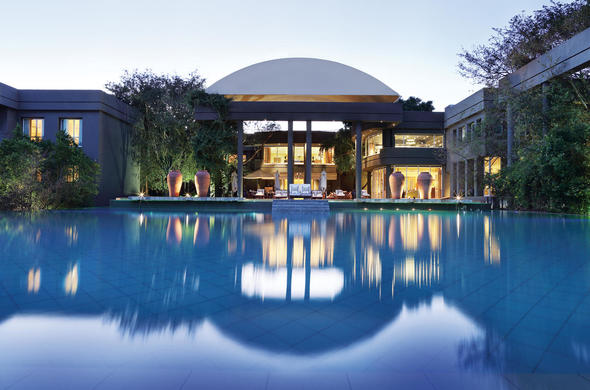 Pool at the Saxon Hotel and Spa,