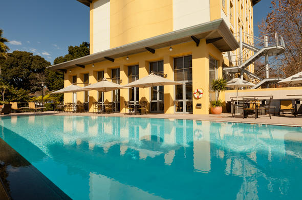 Crystal Clear Swimming Pool At Protea Hotel Wanderers